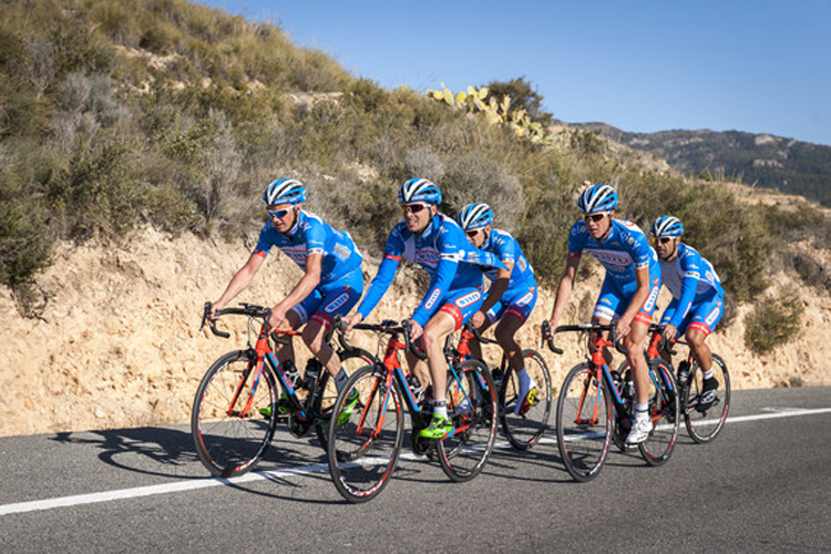 The GP Marseillaise'de Team Wanty' den Haber