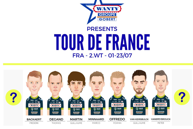 Team Wanty Tour de France'ye Hazır!