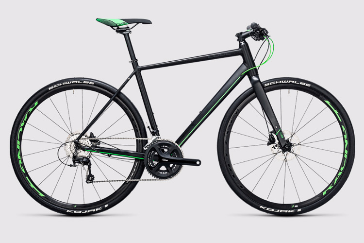 CUBE SL Road Race black n flashgreen