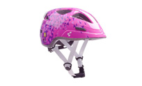 Helmet Pro-JUNIOR pink triangles